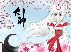 Okami Gijinka Amaterasu by Exceru-Karina on DeviantArt Guilty Gear, Amaterasu, Persona 5, Pen And Paper, Just Giving, Give It To Me, Deviantart, Manga, Anime