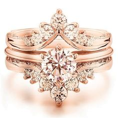 Luxury rose gold engagement ring vintage for your perfect wedding (113)