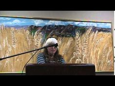 Kirsten reads her work during Helicon West at the Logan Library on Dec 4th, 2014 - YouTube.