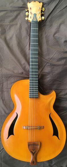 Seprienza Fabrizio Archtop Guitar --- https://www.pinterest.com/lardyfatboy/