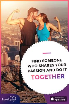 Find someone who shares your passion and do it together #sport #workout #coupleworkout #singles #together #dating #onlinedating #datingappp #loveagain