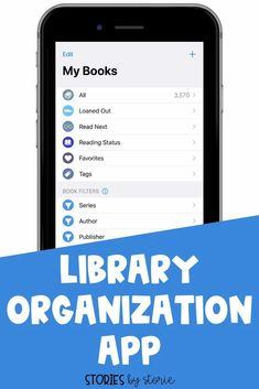 Do you need help keeping track of your book collection? This library organization app helps me keep track of the books I own, the books I have loaned out, and the books I want to read next. Check out some of my favorite features.