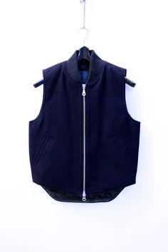 MKI - Black Wool Padded Vest (base layer)