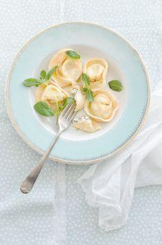Feta & Mint Ravioli | At Down Under | Viviane Perenyi #recipe