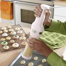 pink kitchen accessories - Google Search- light pink electric cookie press