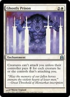 *Obtained* - Magic: the Gathering - Ghostly Prison - Commander