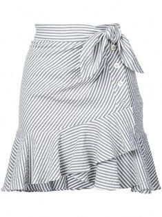 Shop online Veronica Beard knotted skirt as well as new season, new arrivals daily. Dress Outfits, Cute Outfits, Fashion Outfits, Womens Fashion, Fashion Trends, African Fashion Dresses, African Dress, Veronica Beard, Gray Skirt