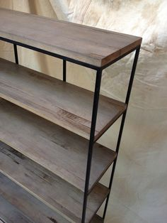 Hey, I found this really awesome Etsy listing at http://www.etsy.com/listing/158091256/industrial-rustic-shelving-wood-and