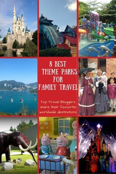 8 Best theme parks for family travel. Family Travel blogger reveal their best worldwide theme park experiences and while you'll love them too | Family Travel Destinations | http://BabyGlobetrotters.Net