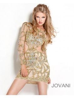 Jovani 1283 - Short, cocktail mini dress for clubbing and parties, or for prom and homecoming dances. From Madame Bridal.