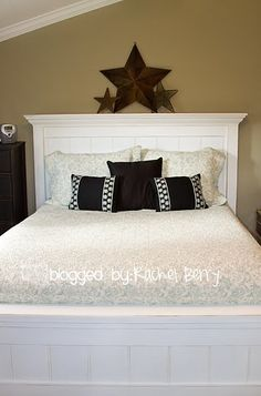 king size farmhouse bed, now if I can just convince my husband this is what we need!