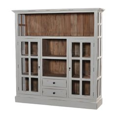 Cape Cod Kitchen Cupboard with Drawers - WHD