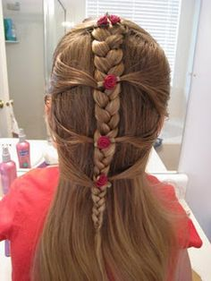 Lovely kids hair ideas in this blog- its useful with two little girls :)