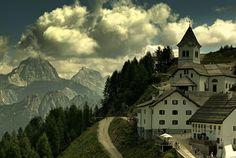 solio Monte Santo di Lussari című képe az Indafotón. . címkék: alpok indafotófal monte_lussari olaszország templom