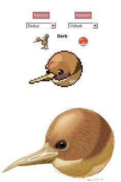 Pokemon fusion - Dodorb