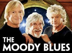 The Moody Blues  - Justin Hayward, Graeme Edge, John Lodge
