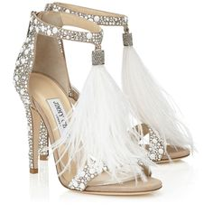 Jimmy Choo VIOLA 110. So what if they cost twice as much as my wedding gown?