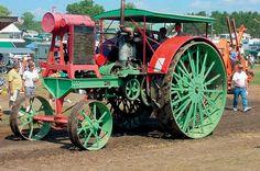 Antique Steam Tractor