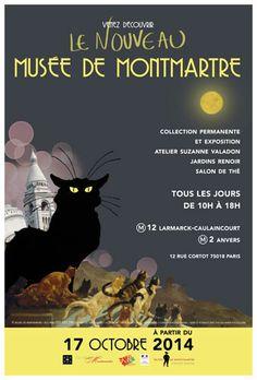 Affiche Musée de Montmartre