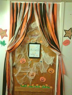 another door from the halloween door decorating contest pumpkin patch