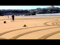 Opere d'arte sulla spiaggia | ENVIRONMENTAL ART - LAND ART