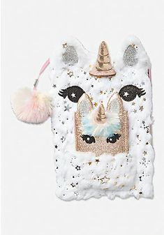 Justice is your one-stop-shop for on-trend styles in tween girls clothing & accessories. Shop our Unicorn Pocket Journal. School Accessories, Doll Accessories, Tween Girls, Toys For Girls, Girl Dolls, Baby Dolls, Cute Diary, Unicorn Room Decor, Unicorn Fashion