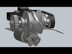 CDS - 3D Simulation of an IP80 Parallel shaft indexing drive - YouTube