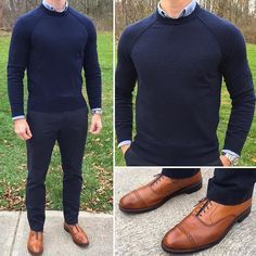 Perfect business casual from @chrismehan Pages to upgrade your style @stylishmanmag @shopthatgrid