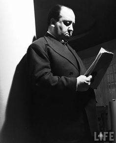 Reading Portraits: Alfred Hitchcock