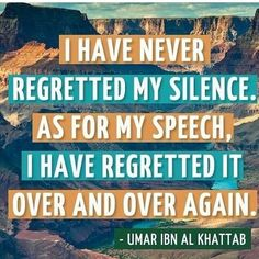 #silenceisgolden Islamic Messages, Islamic Quotes, Hindi Quotes, Keep Praying, Noble Quran, My Silence, Never Regret, Imam Ali, Reduce Stress