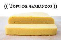 El tofu de garbanzos es una alternativa deliciosa al tofu de soja que además puedes hacer facilmente en casa. Healthy Recepies, Tofu Recipes, Dairy Free Recipes, Gluten Free, Batch Cooking, Healthy Cooking, Healthy Food, Vegan Vegetarian, Vegetarian Recipes