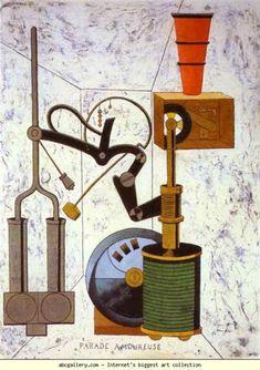 Parade Amoureuse , 1917 - Francis Picabia. Dada