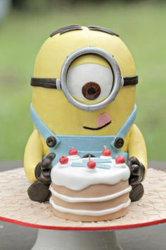 Minion Stuart From Deable Me Ii This One Will Be My Cake