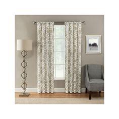 Corona Curtain Devington Curtain, Beig/Green (Beig/Khaki)
