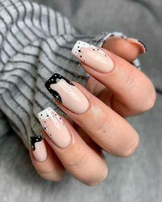Nail Manicure, Gel Nails, Acrylic Nails, French Fade, Beautiful Nail Designs, Finger Painting, Stylish Nails, Nail Inspo, Coffin Nails