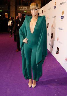 Le look de Rihanna en 2010