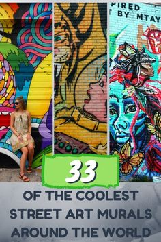 Feast your eyes on some of the coolest street art installations that have been popping up all over major cities and small towns across the globe!    Street Art   Murals   Graffiti   United States   Canada   Asia   Africa   South America   Central America   Europe