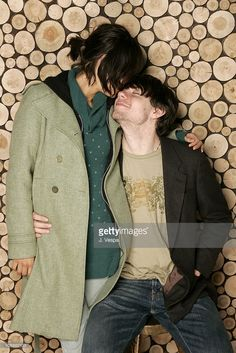 Shannyn Sossamon and Patrick Fugit during 2006 Sundance Film Festival - 'Wristcutters: A Love Story' Portraits at HP Portrait Studio in Park City, Utah, United States.