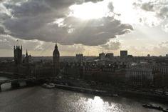 London, on a sunny day from the London Eye! Copyright Conteska Photography