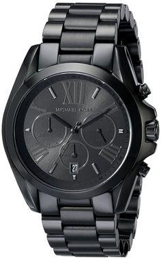 Michael Kors Women's Bradshaw Black Watch