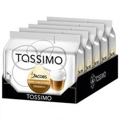 Tassimo Jacobs Latte Macchiato Rainforest Alliance Certified Pack of 5 5 x 16 TDiscs 8 Servings >>> To view further for this item, visit the image link. (This is an affiliate link and I receive a commission for the sales) Espresso Drinks, Coffee Drinks, Coffee Cafe, Coffee Shop, Latte Macchiato, Packaging Design, Brewing, Milk Products, Image Link