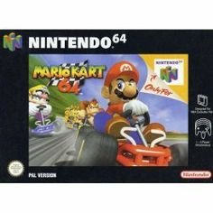 Old school video games: MARIO KART 64