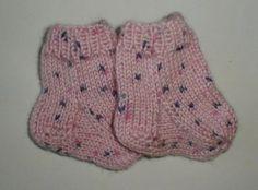 Dukketøj Baby Born strikket strømper