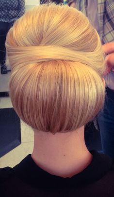 Office woman hair style