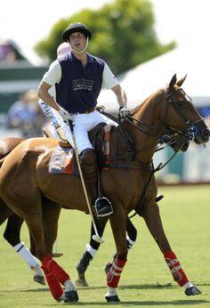 Prince William participating in a Polo match in Santa Barbara, CA July 9, 2011