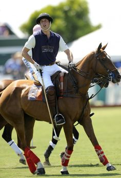 Prince William participating in a Polo match in Santa Barbara, CA July 9, 2011