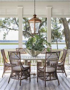 Details to Notice: 2019 Southern Living Idea House - Emily A. Clark A tour of the 2019 Southern Living Idea House and the details worth noticing. Outdoor Rooms, Outdoor Furniture Sets, Outdoor Decor, Modern Furniture, Teak Furniture, Antique Furniture, Furniture Design, Furniture Logo, Furniture Makeover