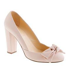 Etta bow pumps - pumps & heels - Women's shoes - J.Crew