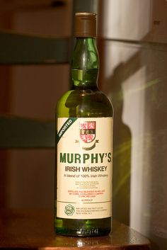 Murphy's Irish Whiskey | Captain Seasalt | Flickr Irish Whiskey Brands, Best Irish Whiskey, Whiskey Logo, Single Malt Irish Whiskey, Whiskey Cream, Whiskey Distillery, Baileys Irish, Scotch Whiskey, Jars