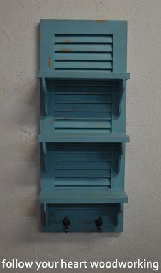 Shutter Shelves Take Two Two